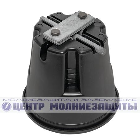 Продольный соединитель круглого проводника 8-10 мм, сталь оцинк.