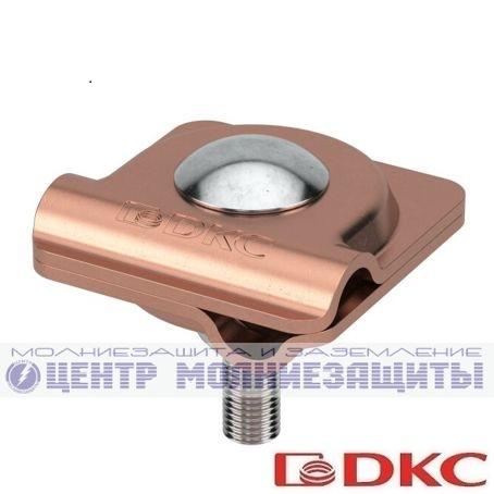 Коньковый держатель проводника 150 мм, оцинкованный
