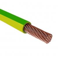 Провод ПуГВ 1х6,0 кв.мм желто-зеленый для заземления