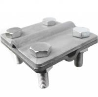 Крестообразный зажим пруток-пруток 8-10 мм, оцинкованный