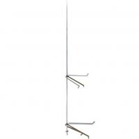 ZANDZ ZZ-201-004 Молниеприемник-мачта вертикальный 4 м (нерж. сталь)