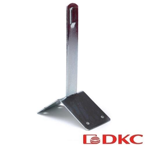Зажим коньковый угловой 100 мм ND2202