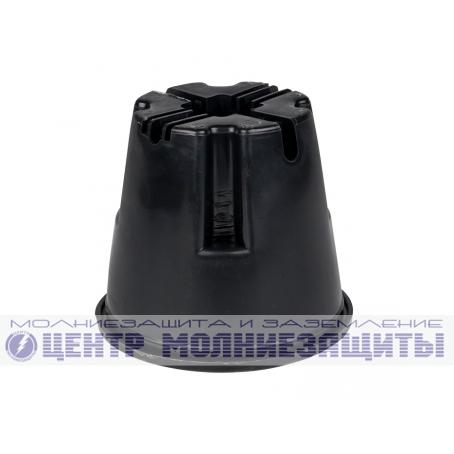 Держатель токоотвода 8-10 мм для плоской мембранной кровли с бетоном